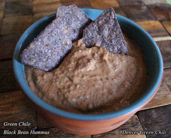 Black Bean Green Chile Hummus