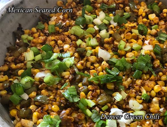Mexican Seared Corn