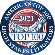 America's Top 100 High Stakes Litigator