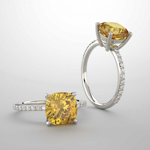 Yellow Diamond Engagement Rings by Denver Jewelers