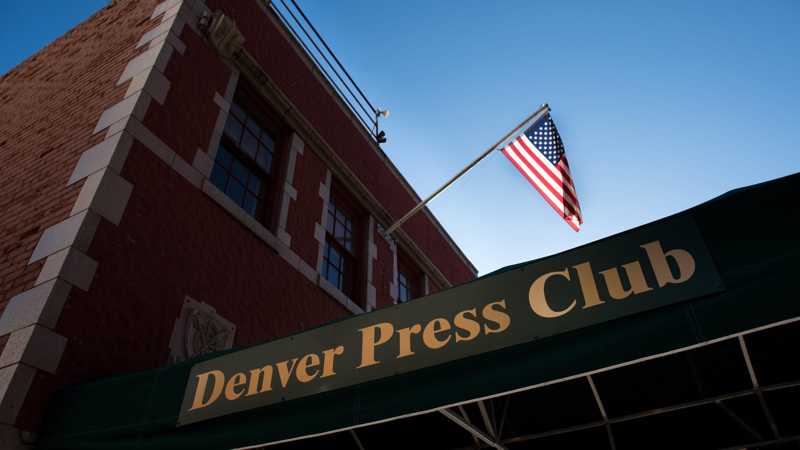 The Denver Press Club building exterior in 2017