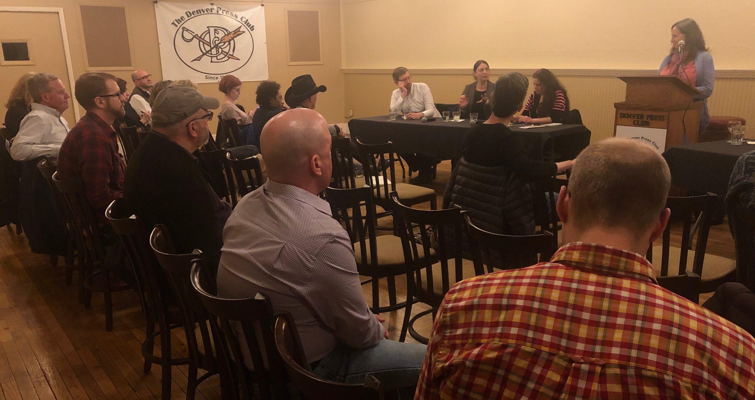 Denver Press Club Local News Panel