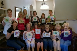 Denver Chapter Class - Silk Dyeing by Lisa Shaw
