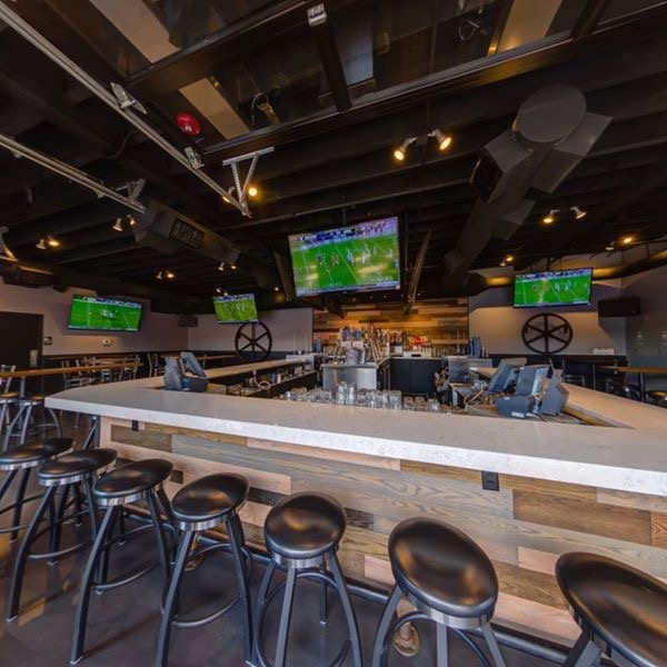 Sitting Space to see you Favorite match with Drinks - Sports Column