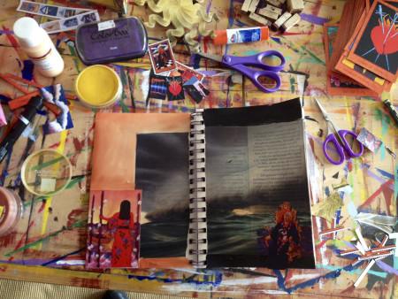 Making Visual Journals Lisa de St. Croix