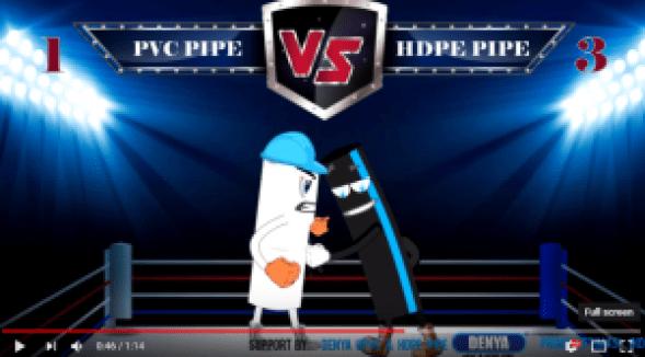 HDPE Pipe VS PVC pipe