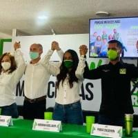 Seguridad, educación y salud, apuestas del Verde