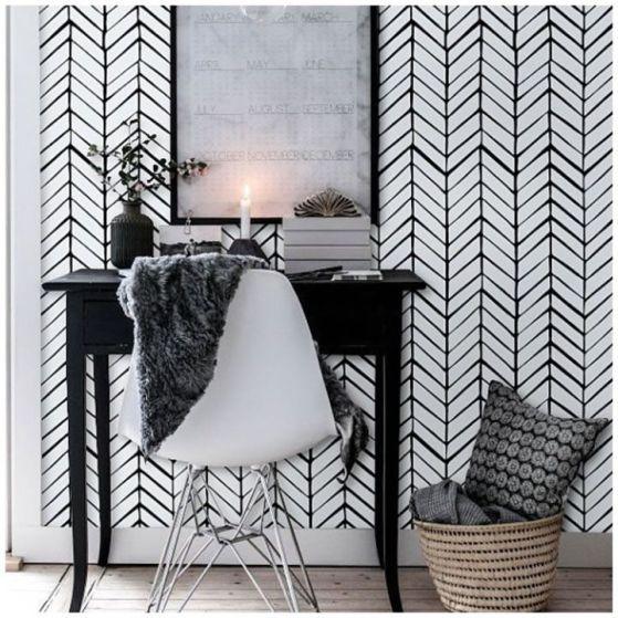 decoración papel tapiz