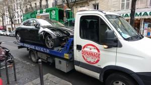 Dépannage et remorquage d'une voiture à Paris