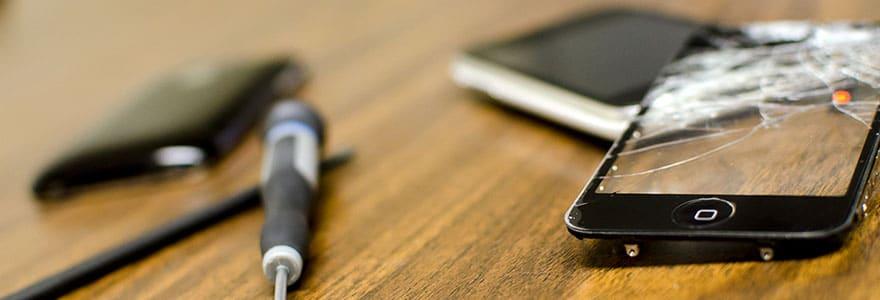réparation écran smartphone