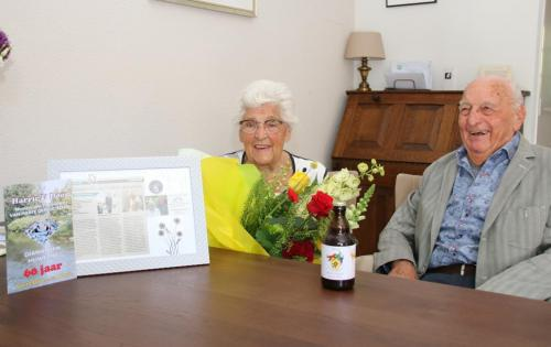 Harrie & Door 60 jaar getrouwd 2020