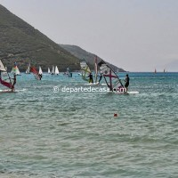 Windsurfing Vassiliki Lefkada