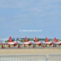 Turkish Stars (8 Canadair NF-5s supersonice) @ BIAS 2015