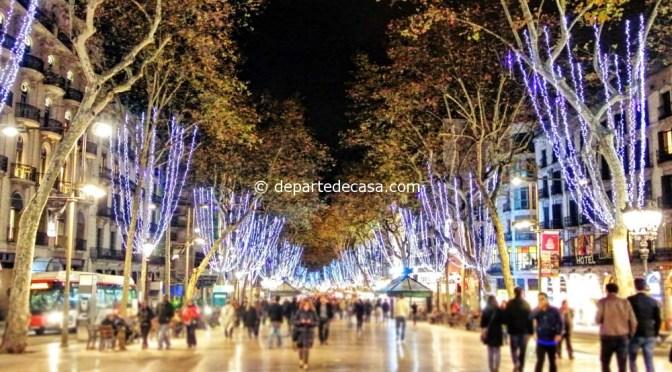 Barcelona in decembrie