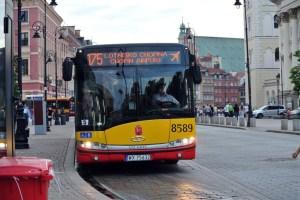 Autobuz aeroport Varsovia