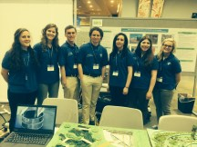 DePaul's P3 team at the EPA National Sustainable Design Expo in Washington, D.C.