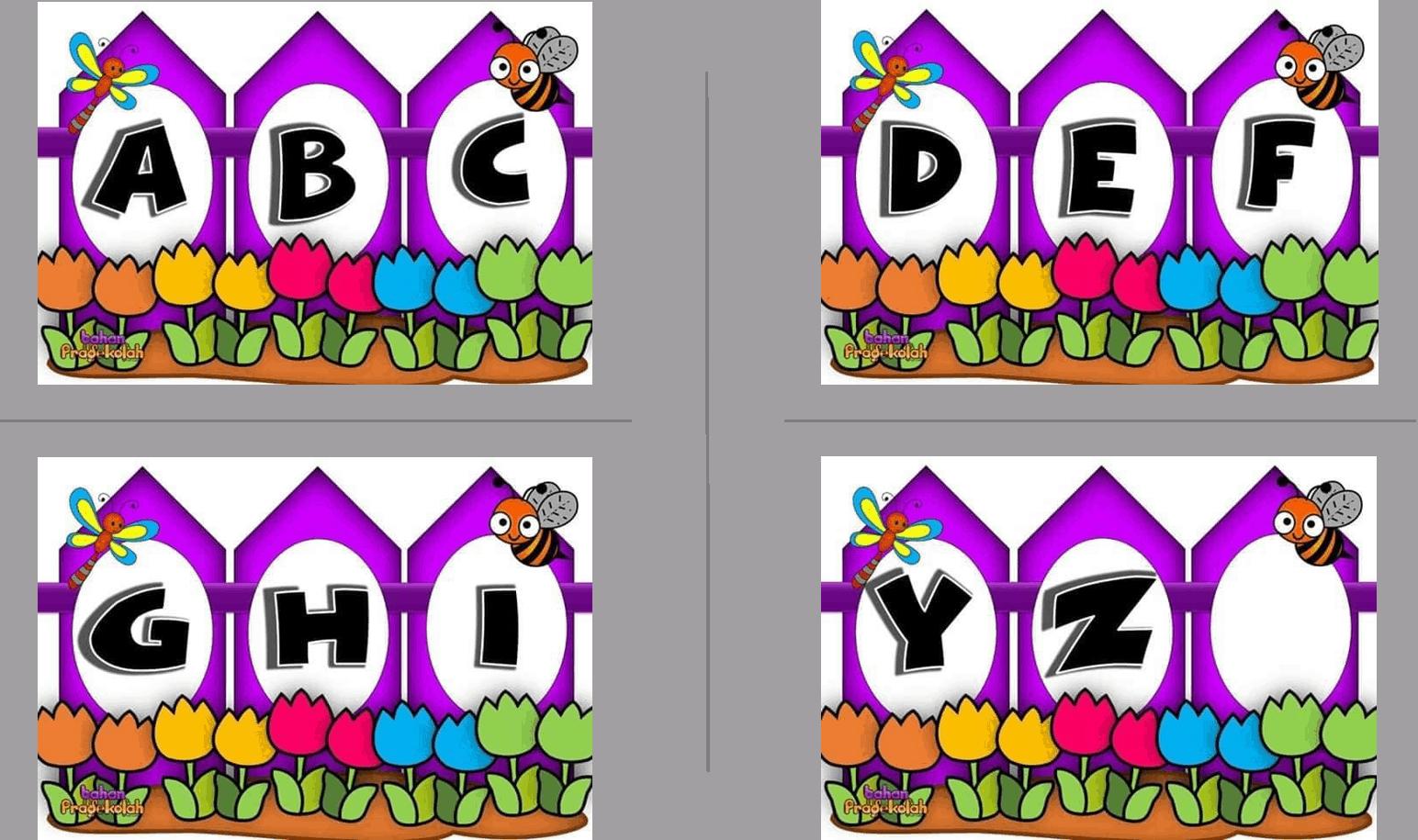 Alphabet Fence Design