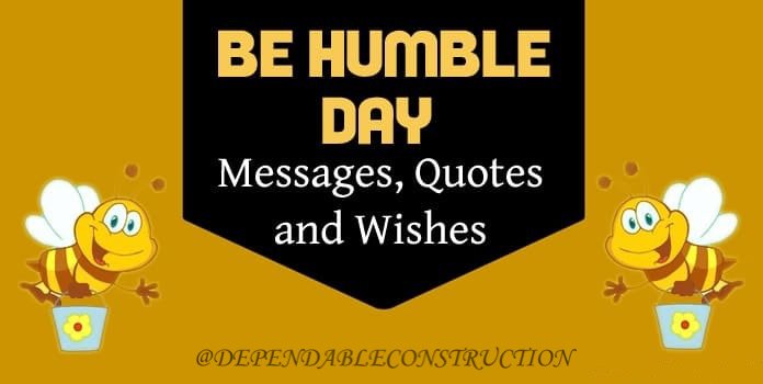 Be Humble Day 2021
