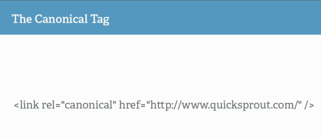 Canonical-tags