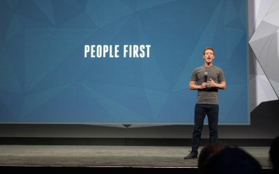 Facebook CEO resolves to do some social media management