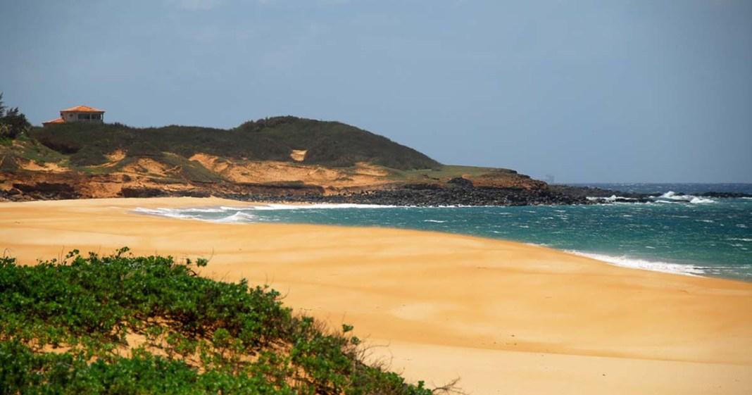 Papohaku Beach Molokai Hawaii