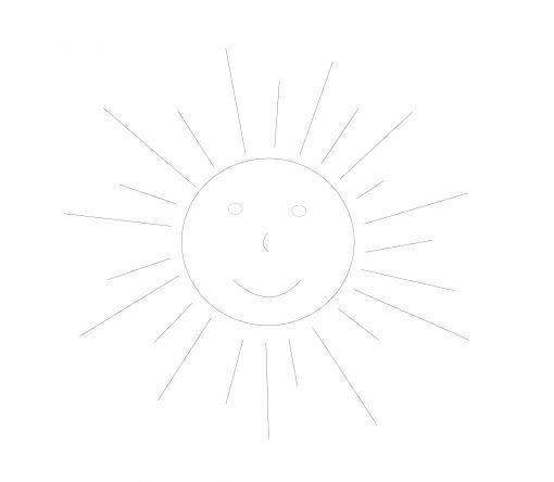 formas sencillas sol paso 2