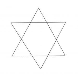dibujar con formas sencillas montañas paso 2