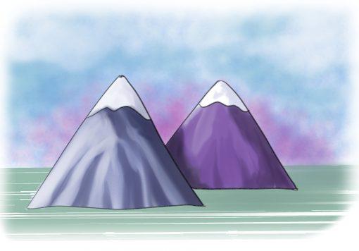 montañas terminadas