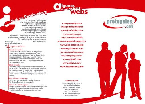 seguridad en internet para niños : Protégeles