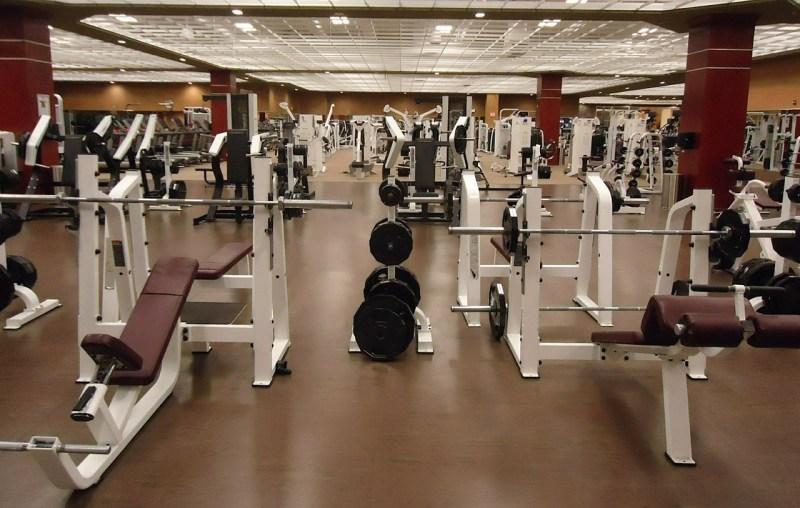 interior de gimnasio
