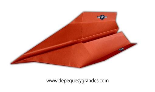aviones de papel : avión planeador