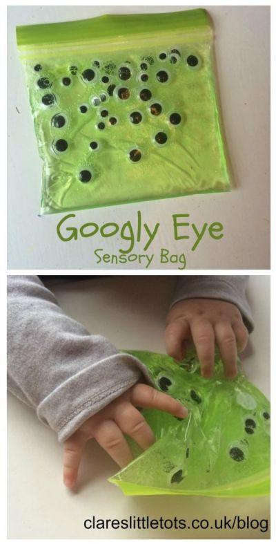 bolsa sensorial con ojos