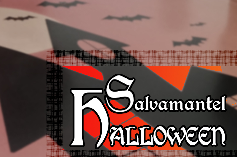 portada salvamantel halloween
