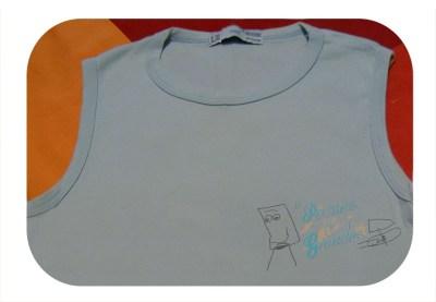 camiseta lisa sin dibujo
