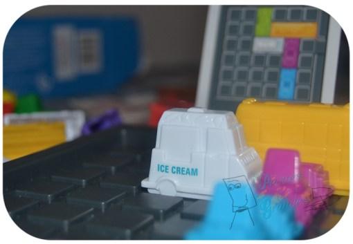 detalle camión de helados