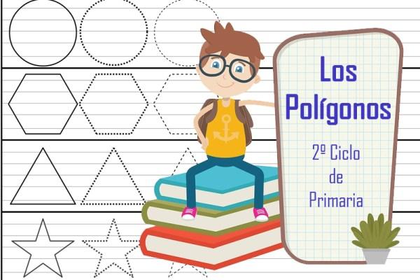 portada los polígonos para segundo ciclo de primaria