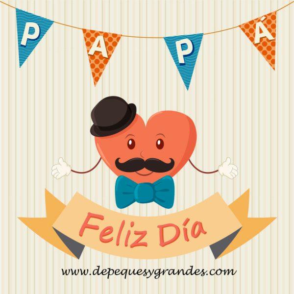tarjeta para el día del padre en español con texto
