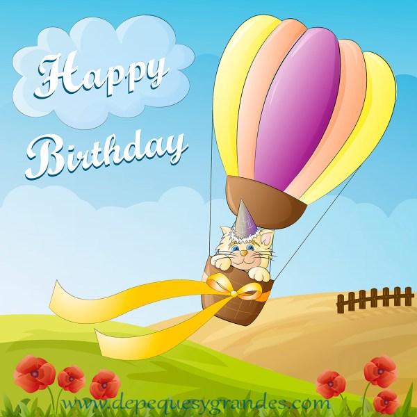 Tarjeta de cumpleaños gratis en inglés
