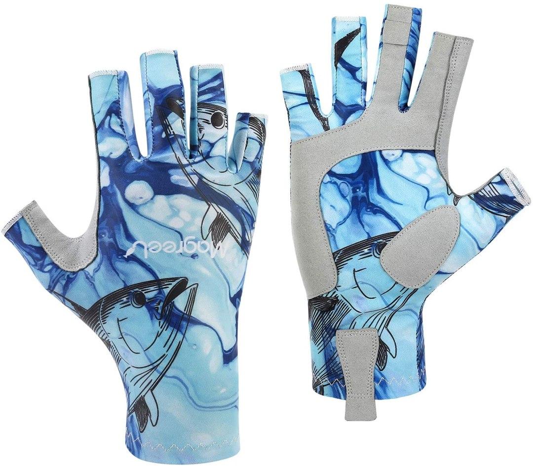 guantes de pesca
