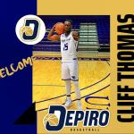 Cliff Thomas joining Depiro Basketball Club