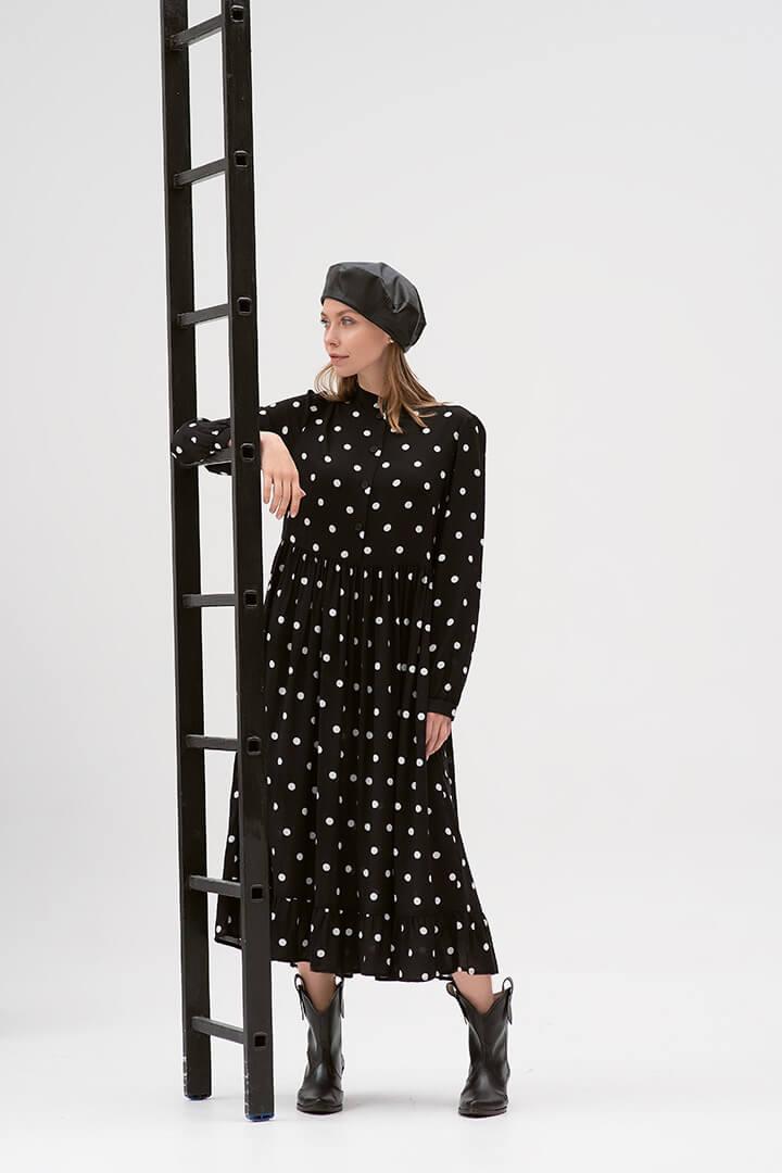 Платье в горох DEplace