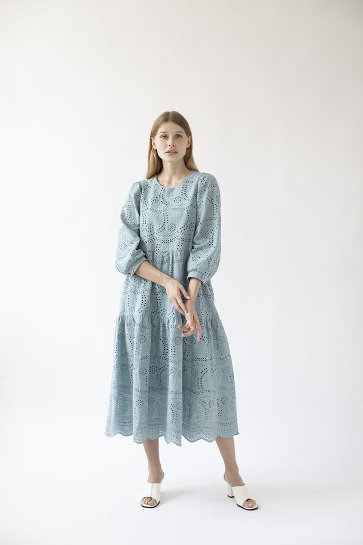 Платье ажурное DEplace