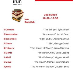 AMBIGÜINGLISH – IRUN BOOK CLUB – CBA (IRUN)