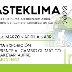 """ASTEKLIMA 2020, SEMANA DEL CAMBIO CLIMÁTICO DE EUSKADI – EXPOSICIÓN """"ACTÍVATE FRENTE AL CAMBIO CLIMÁTICO"""" – PALMERA MONTERO (IRUN)"""