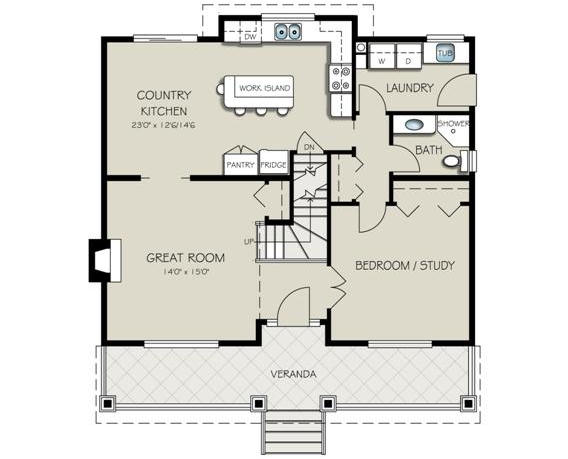 Casa ideal para familias grandes planos de casas gratis - Planos de casas grandes ...