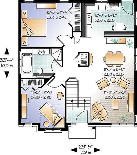 Casa De 1 Piso 2 Habitaciones Y 90 Metros Cuadrados
