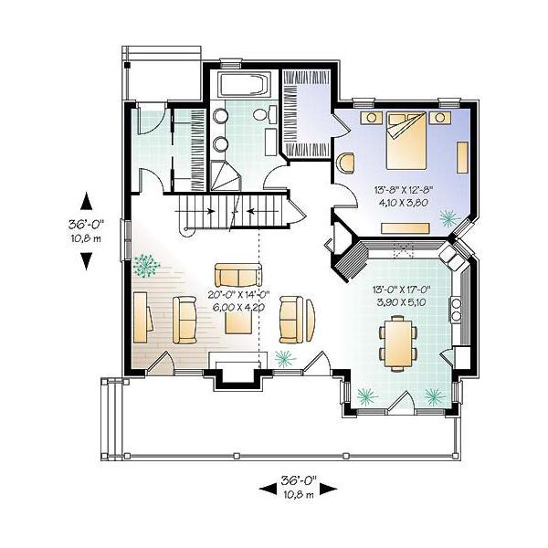 Casa de 2 pisos 3 habitaciones y 151 metros cuadrados - Bano 3 metros cuadrados ...