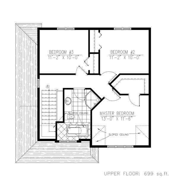 Casa de dos pisos tres dormitorios y 137 metros cuadrados planos de casas gratis deplanos com - Pasar de metros a metros cuadrados ...