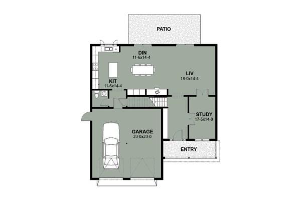 Casa de dos pisos 4 habitaciones y 234 metros cuadrados - Banos de 2 metros cuadrados ...