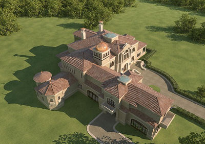 Castillo de 1265 metros cuadrados